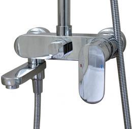 Излив для наполнения ванн. Душевая стойка River Lux  20-3